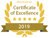 iWGC certificate of excellence 2019